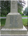 TL3947 : Shepreth war memorial by Hugh Venables