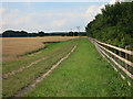 TL4255 : Bridleway by the M11 by Hugh Venables