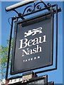 TQ5839 : Beau Nash Tavern sign by Oast House Archive