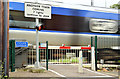 J2968 : The Meeting House level crossing, Dunmurry - July 2014(2) by Albert Bridge