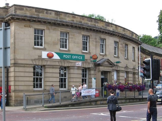 Darwen post office on the circus dave bevis cc by sa 2 0 geograph britain and ireland - Great britain post office ...