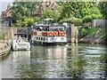 SU9974 : River Cruiser Entering Windsor Old Lock by David Dixon