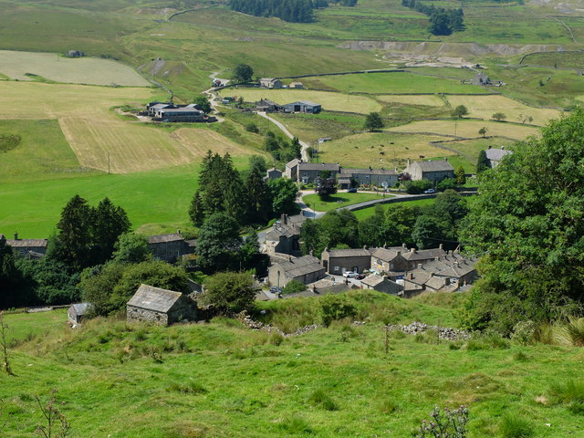 The hamlet of Langthwaite