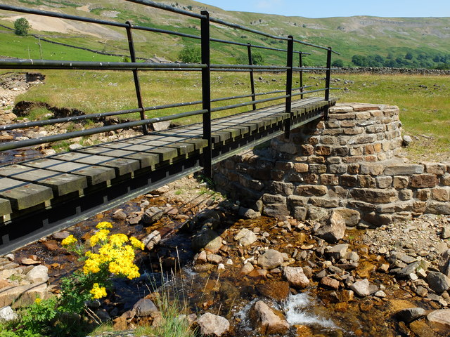 Footbridge over Slei Gill