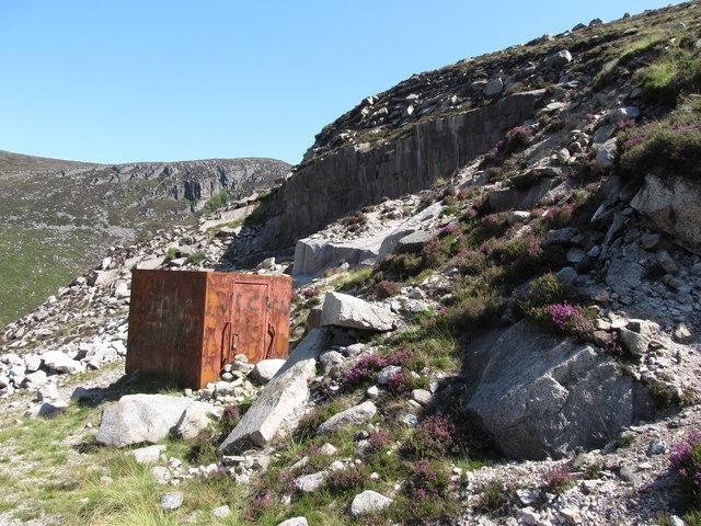 Granite Quarry Ireland Disused Granite Quarry on