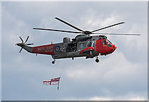 NT5578 : Sea King helicopter by William Starkey