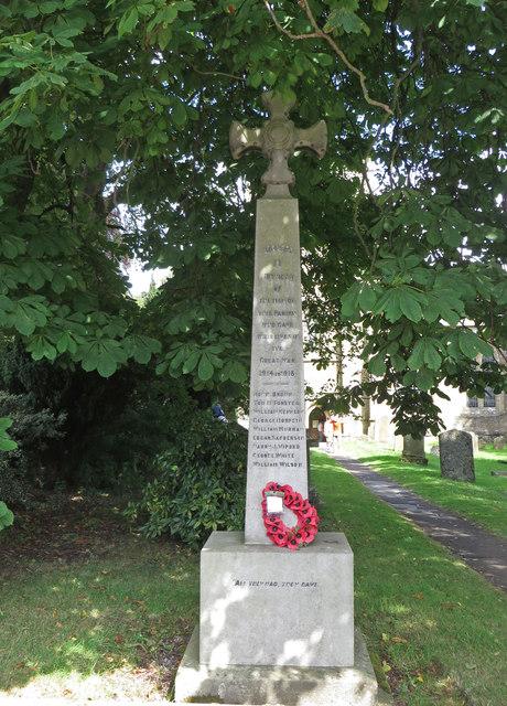 Blanchland War Memorial