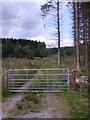 NJ5700 : A gated track towards Townhead by Stanley Howe