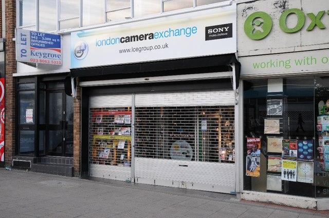 London Camera Exchange, High Street © Philip Halling :: Geograph ...