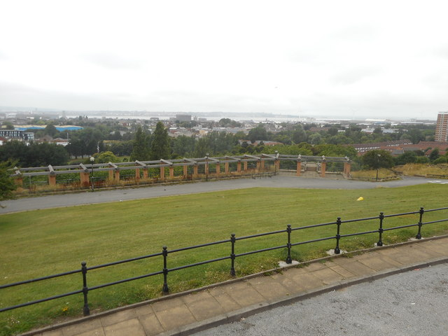 Everton Park - View across the Terraces