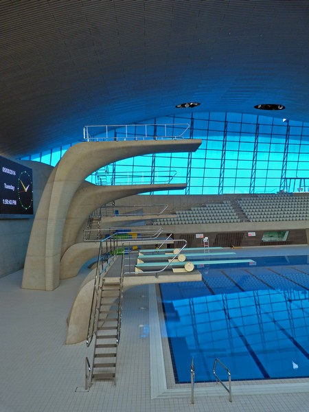Diving boards london aquatics centre julian osley cc by Stratford swimming pool opening times