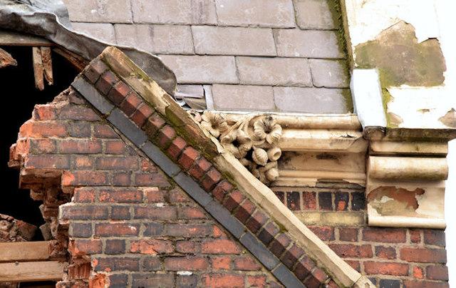 Gt Victoria Street Baptist church, Belfast (demolition) - August 2014(4)