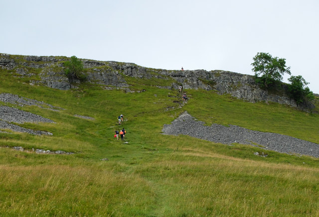 The path leading to Gate Cote Scar