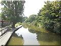 TR1534 : Royal Military Canal, Hythe by Paul Gillett