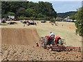 TQ7817 : Discing at Rural Past Times Country Fair : Week 32
