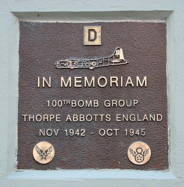 100th Bomb Group Memorial
