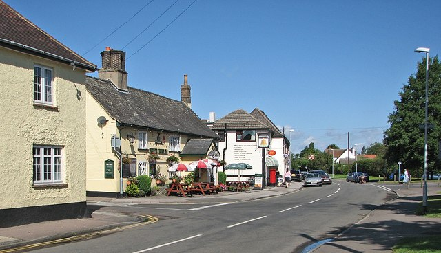 Bottisham: pub and post office