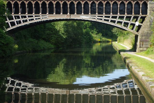 Telford Aqueduct, BCN Main Line