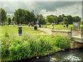 TF0206 : Stamford, Town Meadows by David Dixon