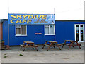 TM4687 : The Skydive Café by Evelyn Simak
