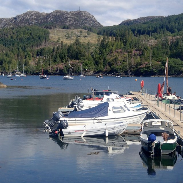 Boats at Plockton
