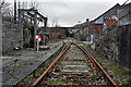 SW9752 : Sidings at Burngullow china clay driers by Noel Jenkins