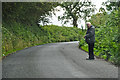 Dist:0.4km<br/>A small lane heading through the countryside of North Devon. An old man heads out, but no idea where he's come from.