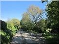 SX3368 : Lane past Caddapit House by Derek Harper