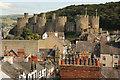 SH7877 : Conwy Castle by Richard Croft