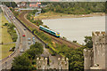 SH7877 : Approaching train by Richard Croft