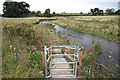 SJ8880 : Wooden steps on the Bollin path by Anthony O'Neil