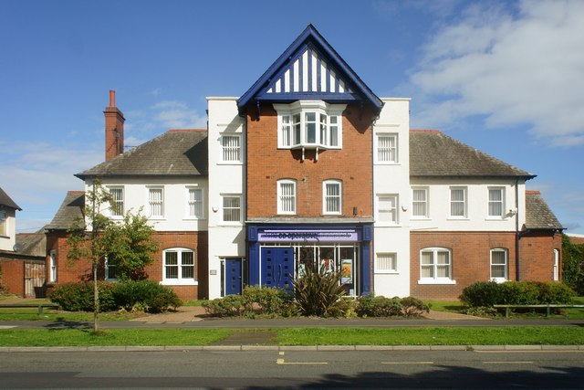 Co-operative funeral services building