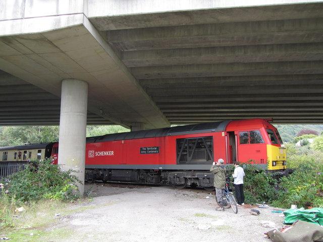 Railtour at Baglan Bay