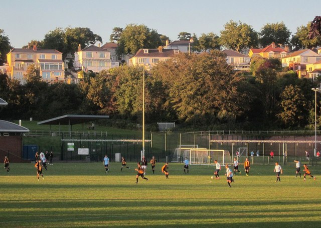 Football match, Torquay Academy