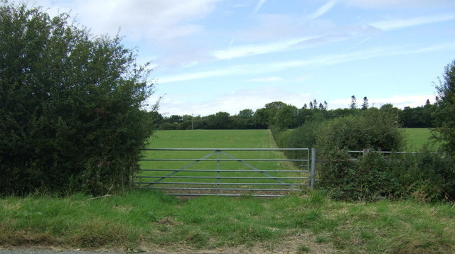 Field entrance off the King's Cliffe road