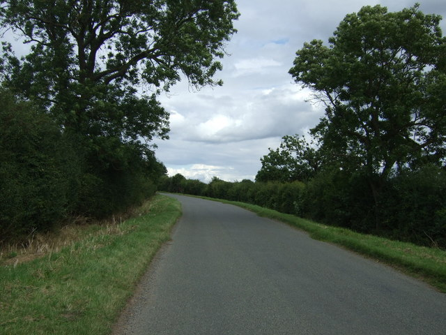 Heading east towards King's Cliffe