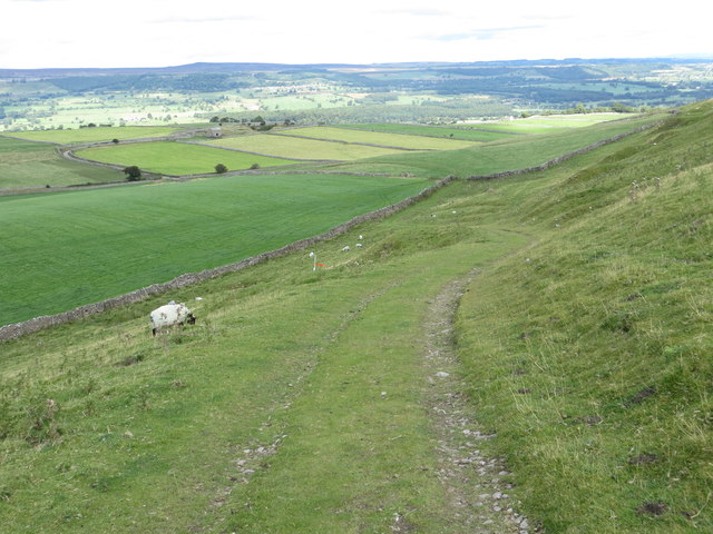 Path from Penhill to Stony Gate