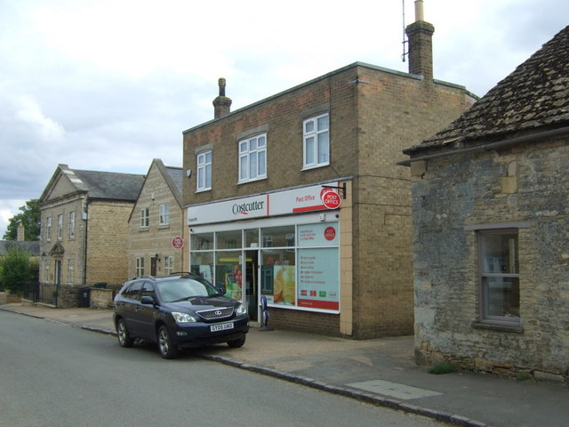 Post Office and stores, King's Cliffe