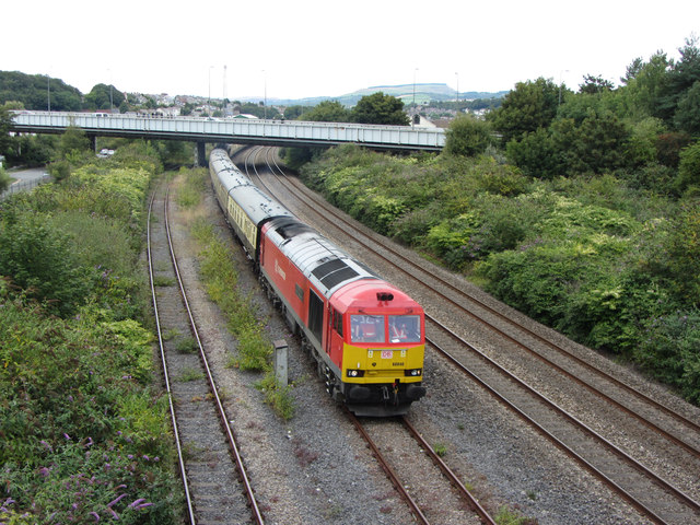Railtour near Briton Ferry