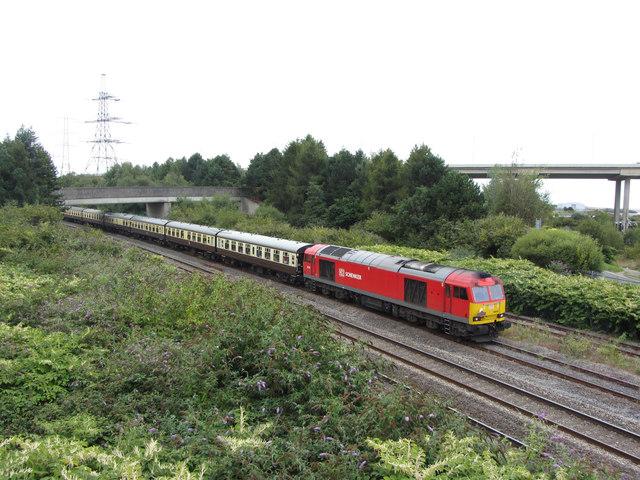 Railtour near Briton Ferry