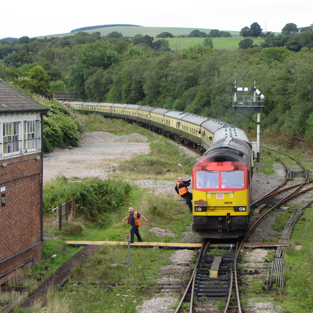 Railtour at Tondu
