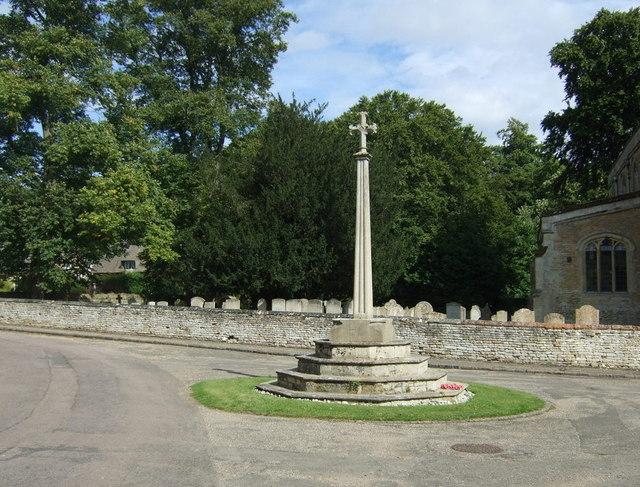 War Memorial, Apethorpe