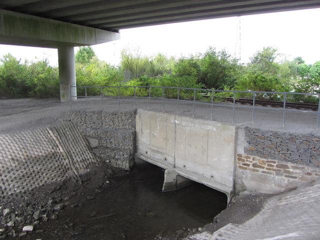 Culvert for the Baglan Brook