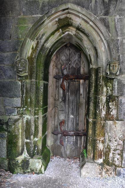 Small doorway, St Conan's Kirk
