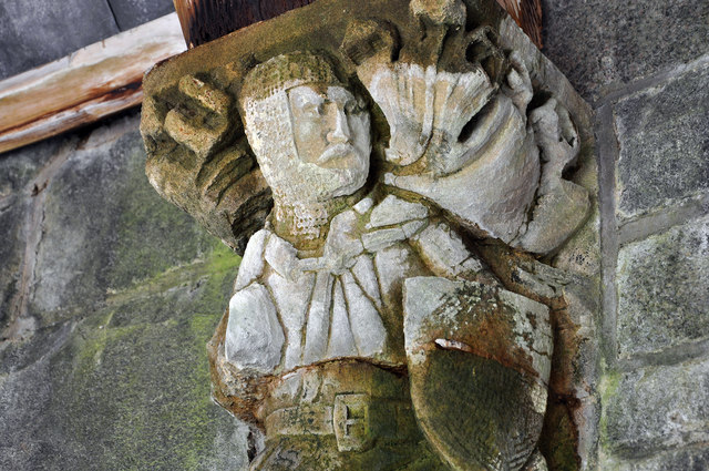 Sculpture detail, St Conan's Kirk