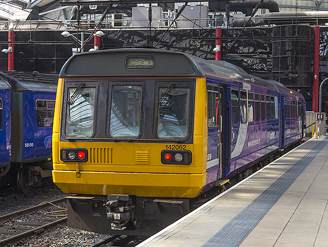 "Class 142 ""Pacer"" at Liverpool Lime Street"