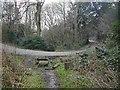 TQ1851 : The old road across Zig Zag Road by Hugh Craddock