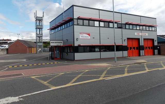 Melton Mowbray Fire Station and tower