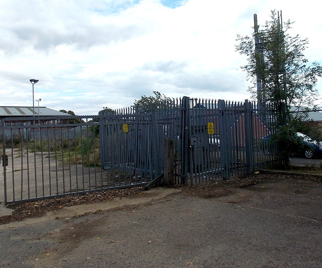 Abattoir electricity substation, Melton Mowbray