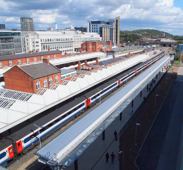 Railway Station Platforms, Nottingham 1